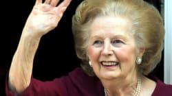 Mario Dumont annonce la mort de Margaret Thatcher sur