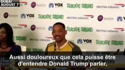Will Smith a trouvé du positif dans les propos de Donald Trump