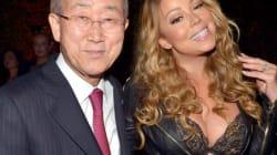 Mais que fait Mariah Carey avec Ban