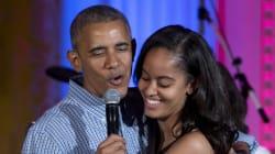 Malia Obama aurait fumé du cannabis, la twittosphère