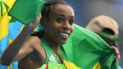 Un titre et un record du monde pour l'Ethiopienne Almaz
