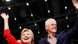 Hillary et Bill Clinton ont gagné 10,6 millions de dollars en