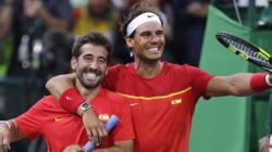 Nadal et Lopez champions olympiques en double