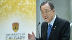 Ban Ki-moon Praises Canada's Openness To
