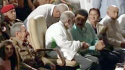 Fidel Castro réapparaît en public pour son 90e