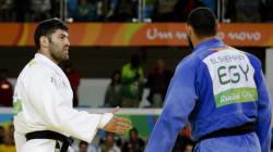 エジプト選手、イスラエル選手との握手拒む 柔道男子【リオオリンピック】