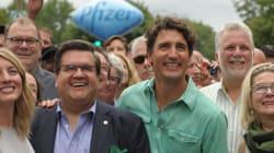 Défilé de la Fierté de Montréal: Justin Trudeau et Philippe Couillard