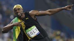 Usain Bolt décroche une 3e fois la médaille d'or au 100