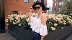 How To Easily Make This Adorable Cold Shoulder