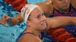 La nageuse Aurélie Muller pensait avoir décroché l'argent sur le 10 km en eau libre,