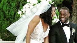 Eniko Parrish Marries Kevin Hart In Wedding Dress* Of Our