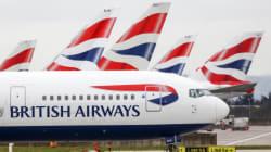 British Airways annule tous ses vols depuis