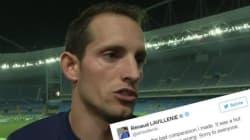 Renaud Lavillenie s'excuse de s'être comparé à Jessie