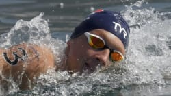 Marc-Antoine Olivier décroche le bronze au 10 km en eau libre à