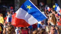 Les Acadiens ne regardent pas passer la parade : la parade, c'est