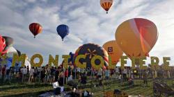 International de montgolfières de Saint-Jean-sur-Richelieu : une colossale