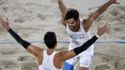 Nicolai-Lupo a medaglia, in finale contro il Brasile.