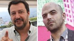 Salvini Vs Saviano.