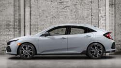 Cinq choses à savoir sur la nouvelle Honda Civic Hatchback 2017