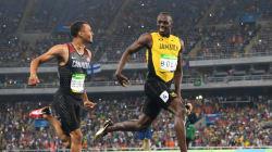 Bolt et son challenger se marrent en pleine