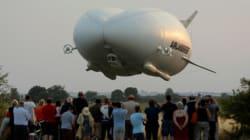 Le plus gros aéronef du monde a gagné un surnom pour son premier