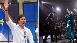 Justin Trudeau parmi la foule pour le spectacle ultime de Tragically