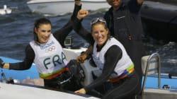 Les Françaises décrochent le bronze en voile à