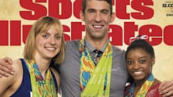 Simone Biles, Katie Ledecky et Michael Phelps sont en une de Sports Illustrated