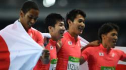 男子400メートルリレー、銀メダル獲得「本当に、最高の日になりました」【リオオリンピック】