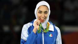 Una donna iraniana vince una medaglia olimpica per la prima