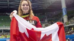 Penny Oleksiak sera la porte drapeau du Canada pour la cérémonie de