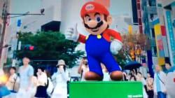 Le 1er ministre japonais se transforme en Mario pour les JO de