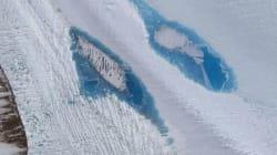 In Antartide sono comparsi migliaia di laghi blu.