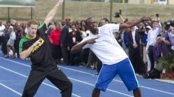 Prince Harry Sends Usain Bolt The Best Birthday