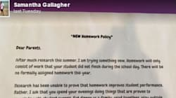 Teacher Declares No Homework Policy, Becomes Everyone's