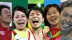 【リオオリンピック】日本のメダリスト一覧 41組が見せた、汗と涙と笑顔(画像集)