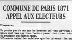 Candidats à la présidentielle: ce texte de 1871 n'a jamais été autant