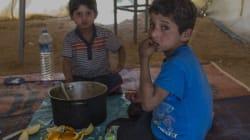 Estos dos pequeños refugiados gravemente enfermos ya están en