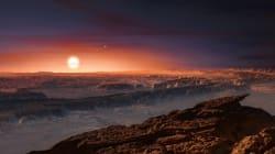 Une exoplanète