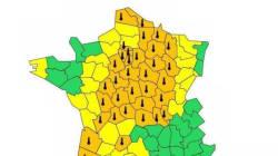 37 départements placés en vigilance orange