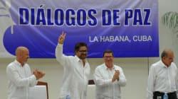 Accord de paix historique entre les Farc et le gouvernement en