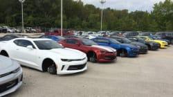 Plus de 250 000$ de roues volées dans une concession Chevrolet