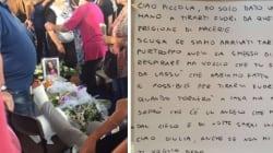 La lettera del vigile del fuoco sulla bara di Giulia: