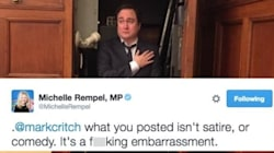 MP Rips Into Comedian For Photo Mocking