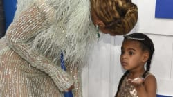 Blue Ivy Has A Total 4-Year-Old Moment On The VMA Red