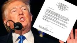 Trump a-t-il écrit lui-même son certificat