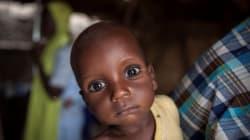 Rescapés de Boko Haram, des enfants nigérians meurent de