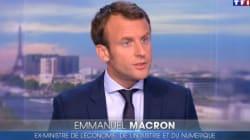 Macron a dû se plier à la traditionnelle question sur le rasage le