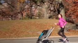 This Hands-Free Stroller Is Either Terrifying Or Really