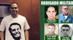 'Viva Ustra': Eduardo Bolsonaro comemora impeachment agradecendo torturador de